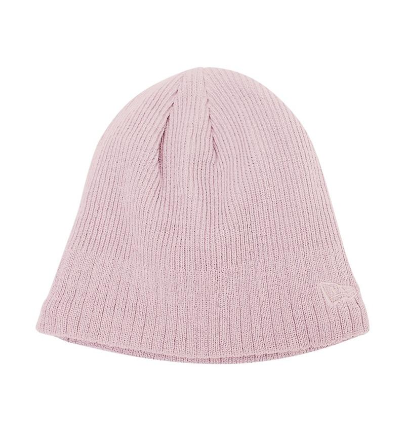 New Era - Lined Skull Beanie - Workwear Toronto - Custom Clothing - Toques - Custom Logo Toques - Corporate Apparel - WTSN900 - Heat Press - Screen Printing - Embroidery - Pink