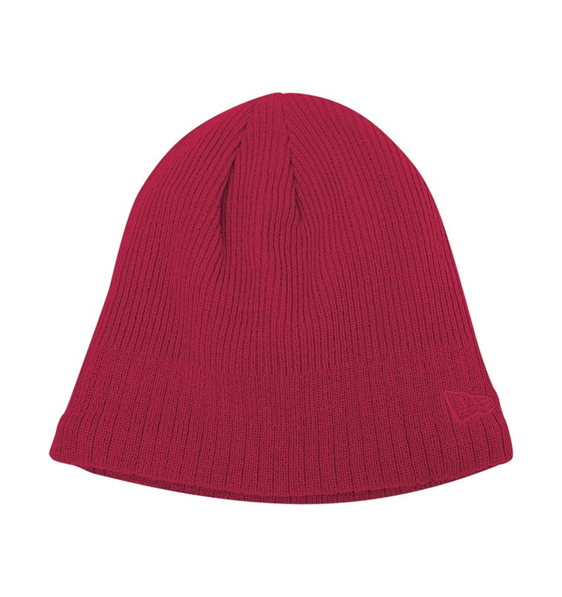 New Era - Lined Skull Beanie - Workwear Toronto - Custom Clothing - Toques - Custom Logo Toques - Corporate Apparel - WTSN900 - Heat Press - Screen Printing - Embroidery - Red