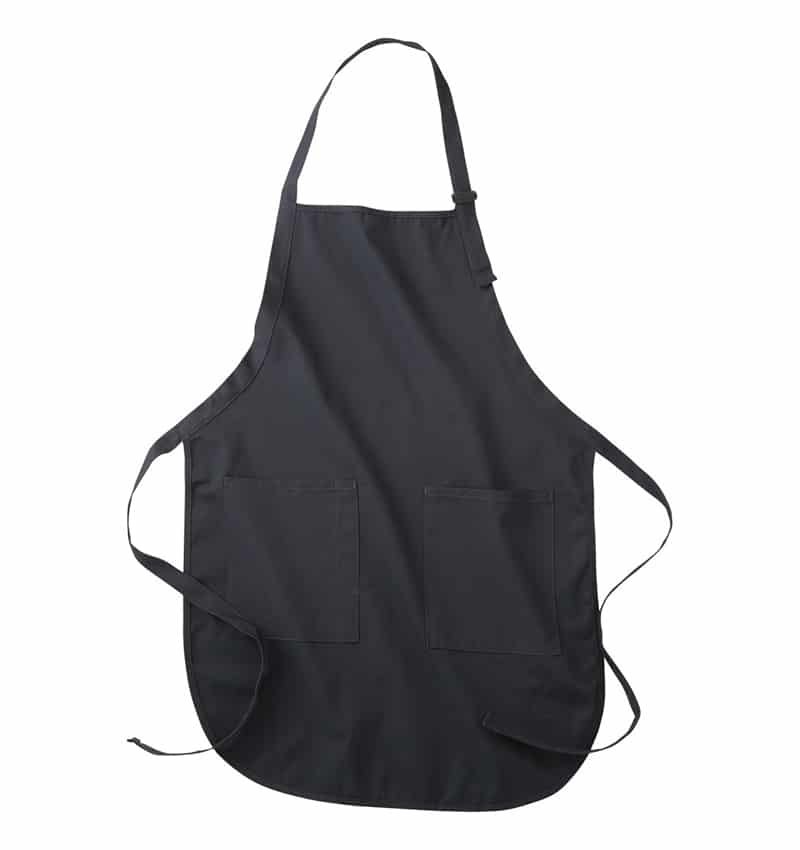 Custom Aprons With Your Logo - WTSNA100 Navy - Promotional Products - Workwear Toronto - Heat Transfer - Screen Printing - Embroidery - Kitchen