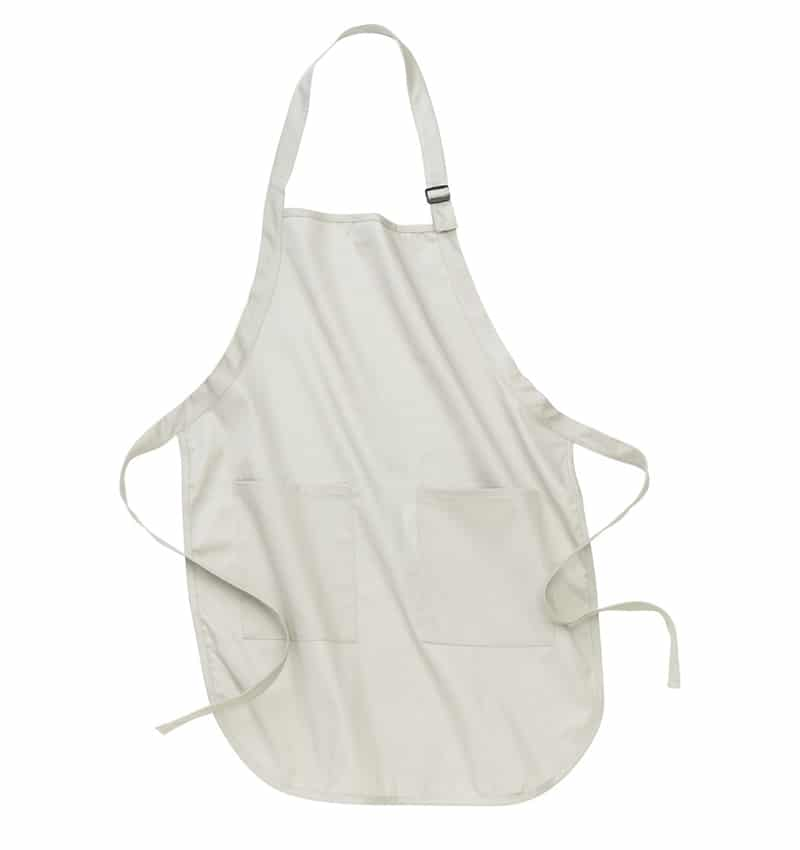 Custom Aprons With Your Logo - WTSNA100 Stone - Promotional Products - Workwear Toronto - Heat Transfer - Screen Printing - Embroidery - Kitchen