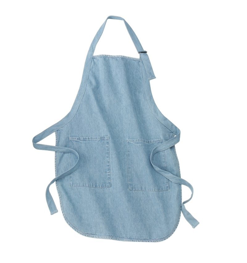 Custom Aprons With Your Logo - WTSNA100 Denim - Promotional Products - Workwear Toronto - Heat Transfer - Screen Printing - Embroidery - Kitchen