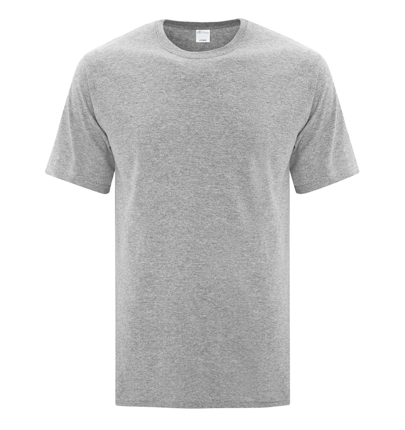 Custom Everyday T-Shirt With Your Logo - Cotton - Promotional Products - Workwear Toronto - WTSNATC1000T Athletic Heather