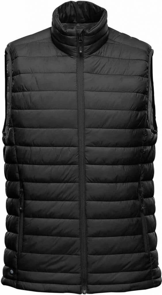WTSTAFV-1 - Black & Graphite - WorkwearToronto.com - Men's Stavanger Thermal Vest