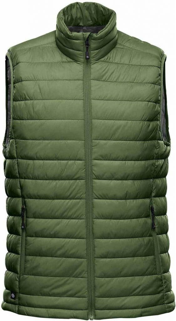 WTSTAFV-1 - Garden Green & Graphite - WorkwearToronto.com - Men's Stavanger Thermal Vest
