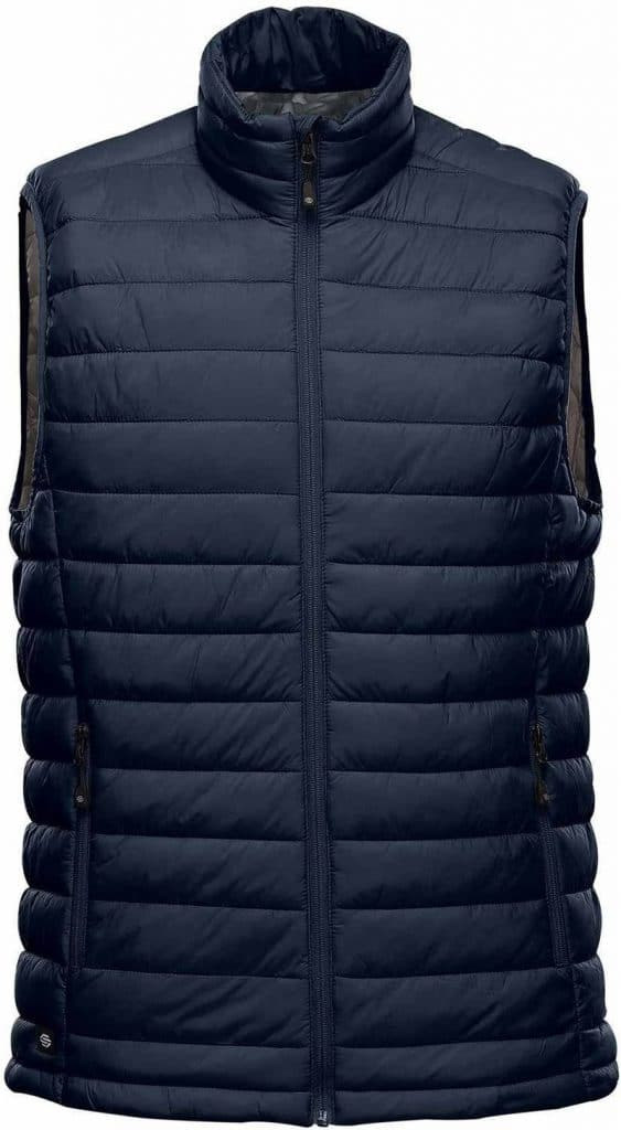 WTSTAFV-1 - Navy & Graphite - WorkwearToronto.com - Men's Stavanger Thermal Vest