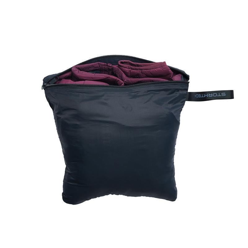 WTSTAFV-1W - Garden Rose & Graphite - WorkwearToronto.com - Women's Stavanger Thermal Vest - Storage Bag - Custom Clothing Embroidery and Heat Press