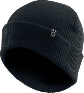 WTSTBTV-1 - Black - WorkwearToronto.com - Headwear, Toques & Knit Beanies - Custom Decoration, Embroidery Cost
