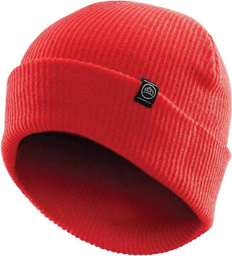 WTSTBTV-1 - Bright Red - WorkwearToronto.com - Headwear, Toques & Beanies - Custom Decoration, Embroidery Cost
