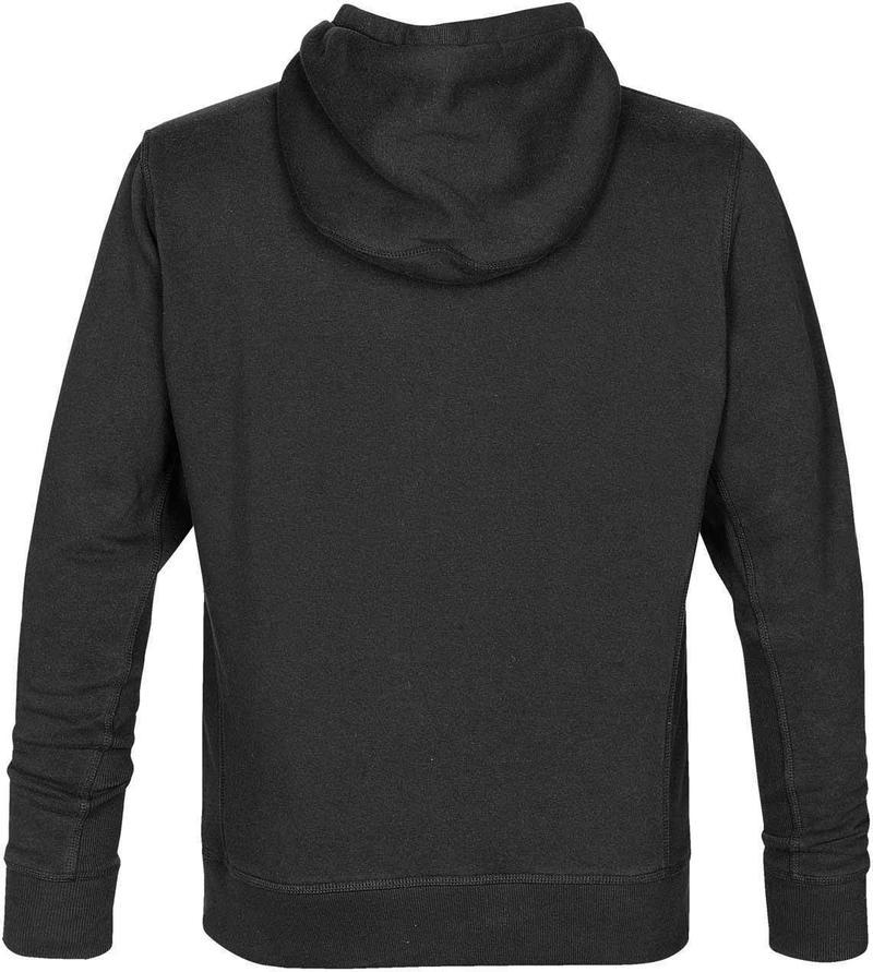 WTSTCFZ-3 - Black - WorkwearToronto.com - Men's Metro Full Zip Hoodie - Custom Logo - Back