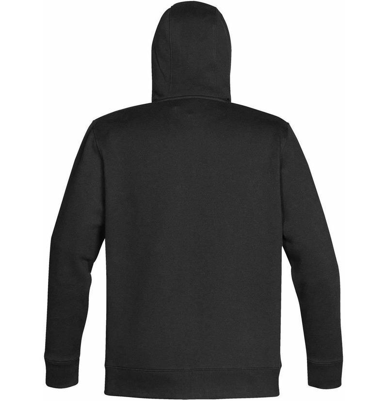 WTSTCFZ-4 - Black Granite - WorkwearToronto.com - Men's Baseline Full Zip Hoodie - Custom Clothing Embroidery and Heat Press - Back