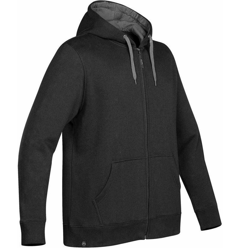 WTSTCFZ-4 - Black Granite - WorkwearToronto.com - Men's Baseline Full Zip Hoodie - Custom Clothing Embroidery and Heat Press