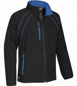 WTSTCXJ-3 Black Royal - WorkwearToronto.com - Men's Crew Softshell jackets with custom logo