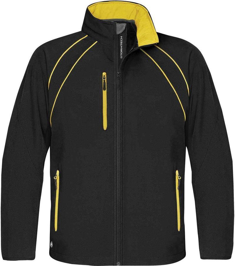 WTSTCXJ-3 Black Sundance - WorkwearToronto.com - Men's Crew Softshell jackets with custom logo