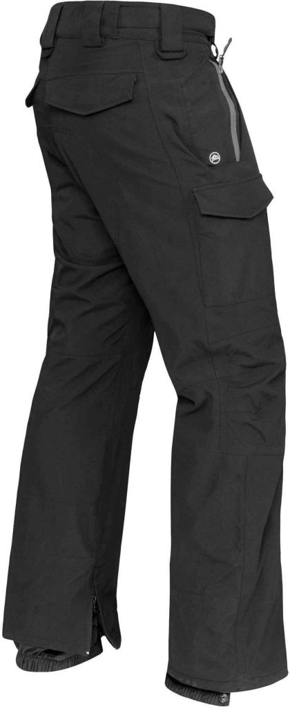 WTSTEP-2 - Granite & Black - WorkwearToronto.com Men's Custom Decorated Hard Shell Pants
