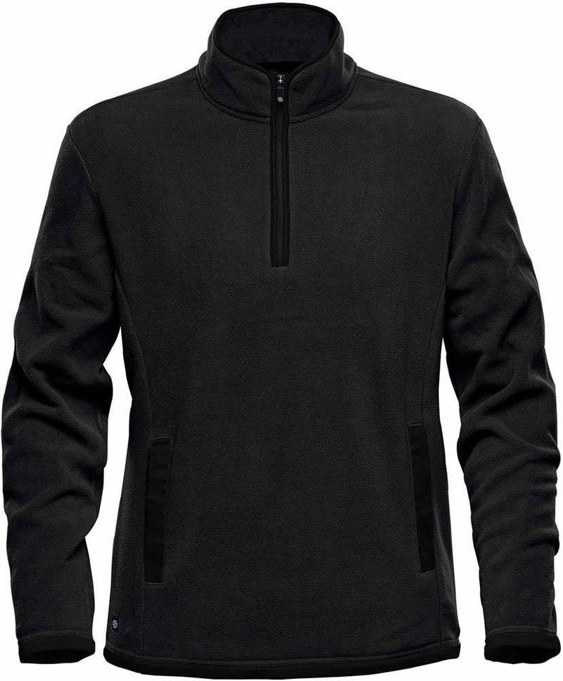 WTSTFPL-1 - Black - WorkwearToronto.com - Shasta Tech Fleece Jacket for Men