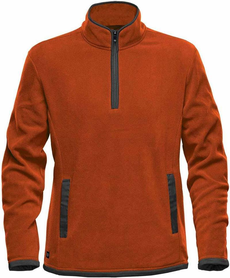 WTSTFPL-1 - Burnt Orange - WorkwearToronto.com - Shasta Tech Fleece Jacket for Men