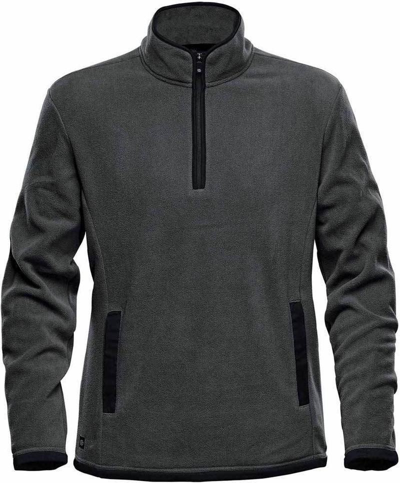 WTSTFPL-1 - Graphite & Black - WorkwearToronto.com - Shasta Tech Fleece Jacket for Men