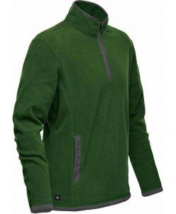 WTSTFPL-1 - Green Garden & Graphite - WorkwearToronto.com - Shasta Tech Fleece Jacket for Men - Custom Clothing Embroidery and Heat Press