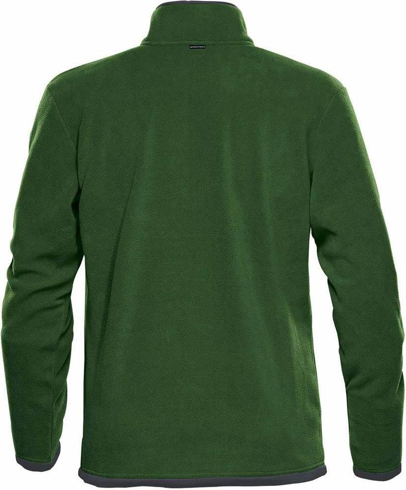 WTSTFPL-1 - Green Garden & Graphite - WorkwearToronto.com - Shasta Tech Fleece Jacket for Men - Back