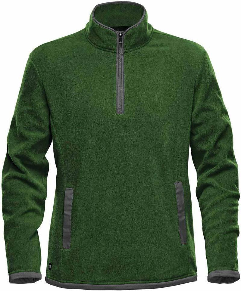 WTSTFPL-1 - Green Garden & Graphite - WorkwearToronto.com - Shasta Tech Fleece Jacket for Men - Front