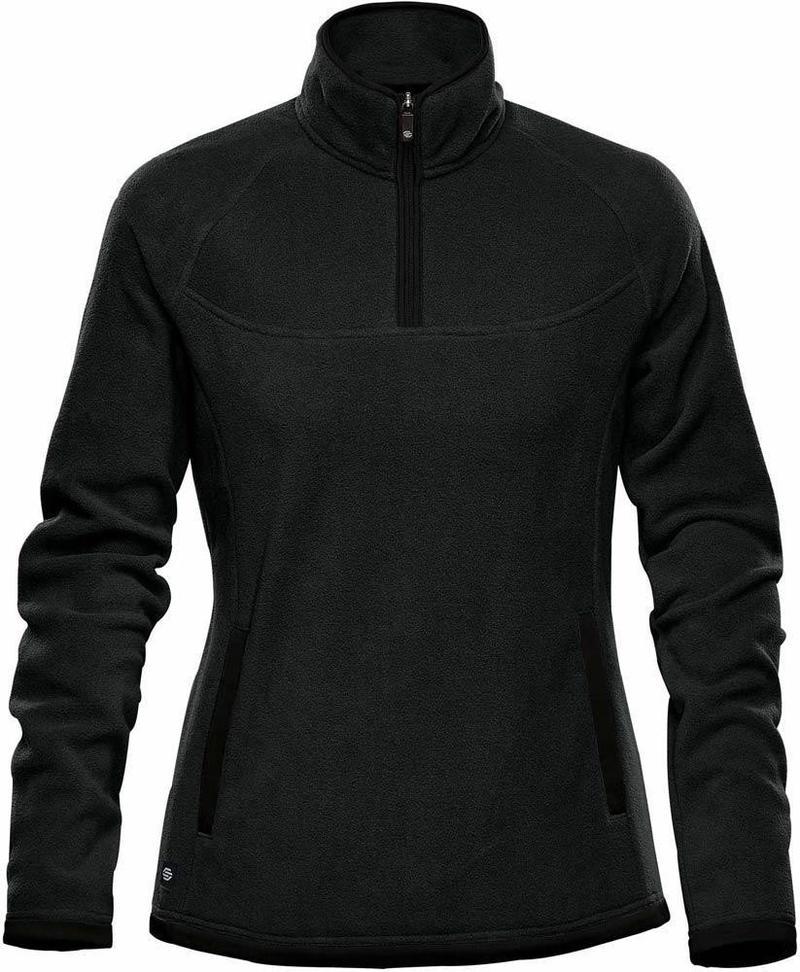 WTSTFPL-1W - Black - WorkwearToronto.com - Shasta Tech Fleece jacket For Women - Side - Custom Clothing Embroidery and Heat Press