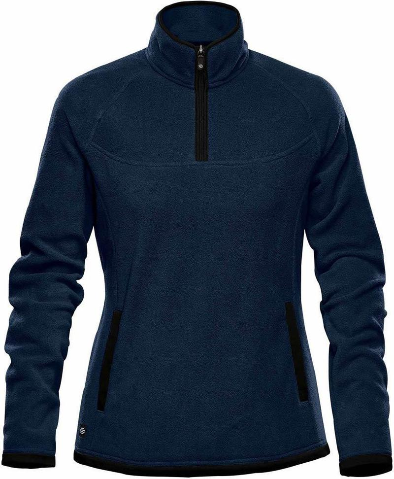 WTSTFPL-1W - Navy - WorkwearToronto.com - Shasta Tech Fleece jacket For Women - Custom Clothing Embroidery and Heat Press