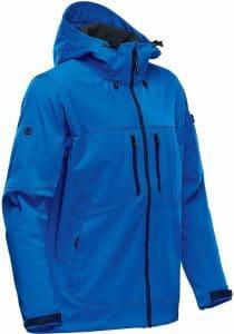 WTSTHR-1 Azureblue - WorkwearToronto.com - Softshell jackets for men