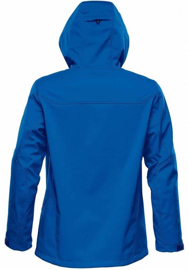 WTSTHR-1 Azureblue - WorkwearToronto.com - Softshell jackets for men - Back