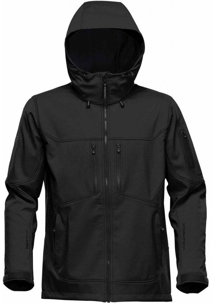 WTSTHR-1 Black Graphite - WorkwearToronto.com - Softshell jackets for men
