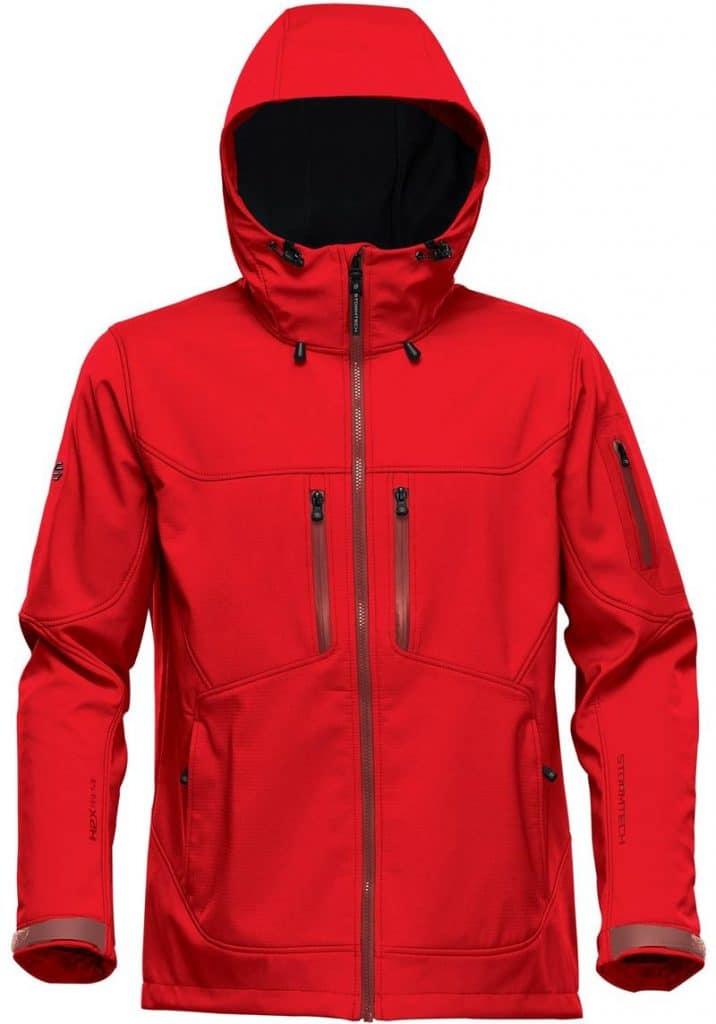 WTSTHR-1 BrightRed - WorkwearToronto.com - Softshell jackets for men