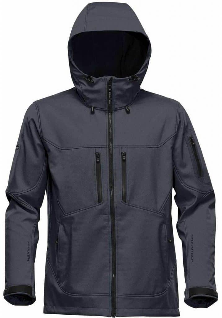 WTSTHR-1 Charcoal Twill - WorkwearToronto.com - Softshell jackets for men