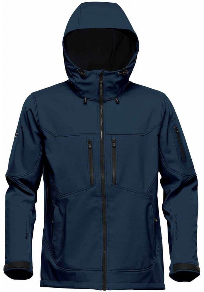 WTSTHR-1 Navy - WorkwearToronto.com - Softshell jackets for men