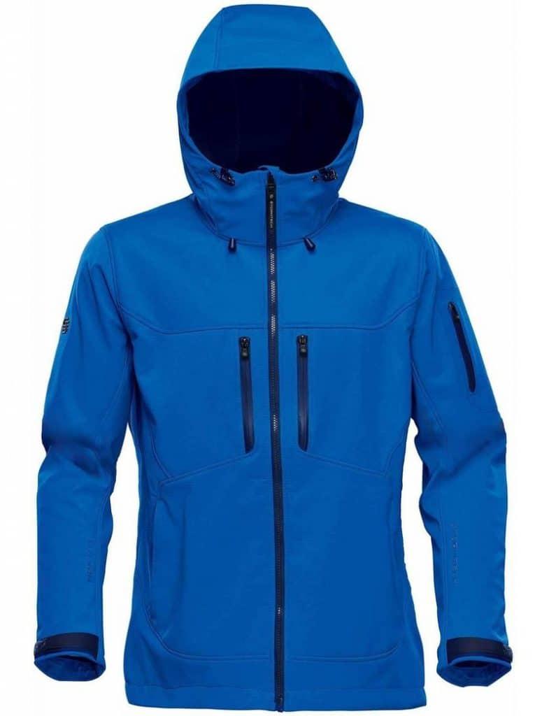 WTSTHR-1W Azure Blue - WorkwearToronto.com - Softshell Jackets for women