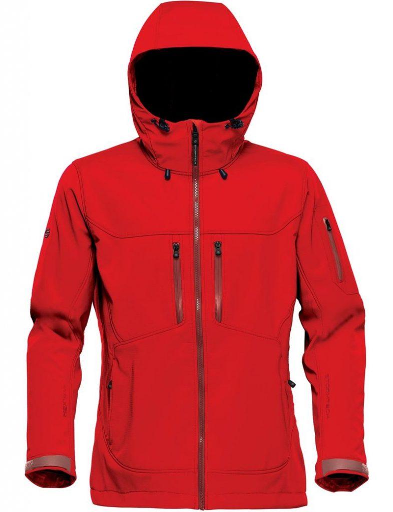 WTSTHR-1W Bright Red - WorkwearToronto.com - Softshell Jackets for women