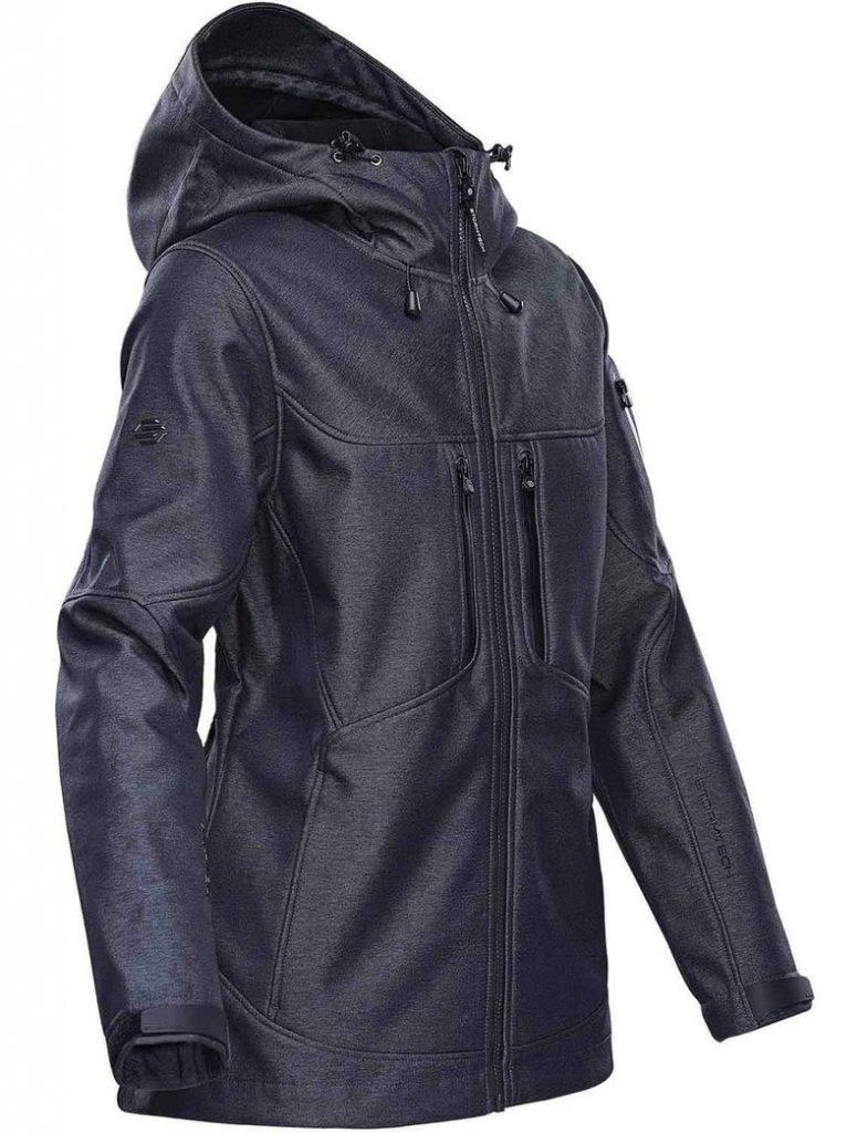 WTSTHR-1W Charcoal Twill - WorkwearToronto.com - Softshell Jackets for women