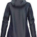 WTSTHR-1W Charcoal Twill - WorkwearToronto.com - Softshell Jackets for women - Back