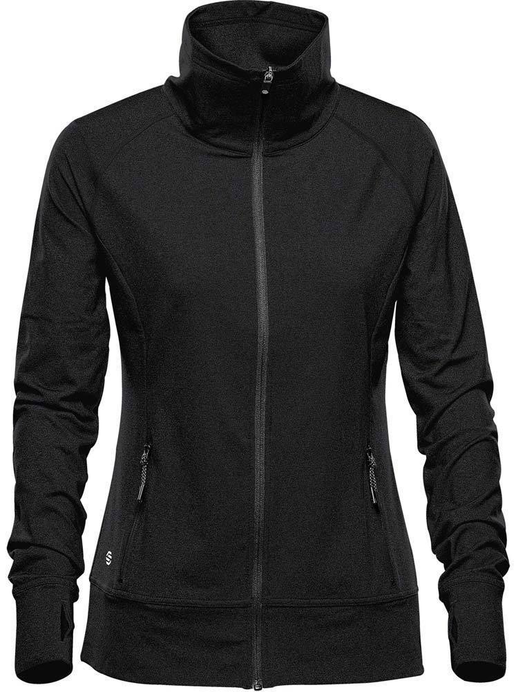 WTSTJLC-1W - Black - WorkwearToronto.com - Women's Fleece Jackets
