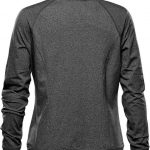 WTSTJLC-1W - Graphite Heather - WorkwearToronto.com - Women's Fleece Jackets - Back