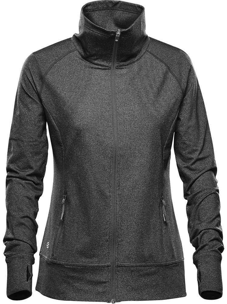 WTSTJLC-1W - Graphite Heather - WorkwearToronto.com - Women's Fleece Jackets - Front