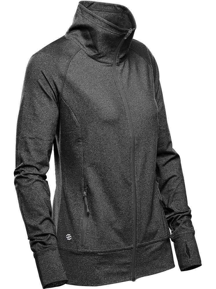 WTSTJLC-1W - Graphite Heather - WorkwearToronto.com - Women's Fleece Jackets