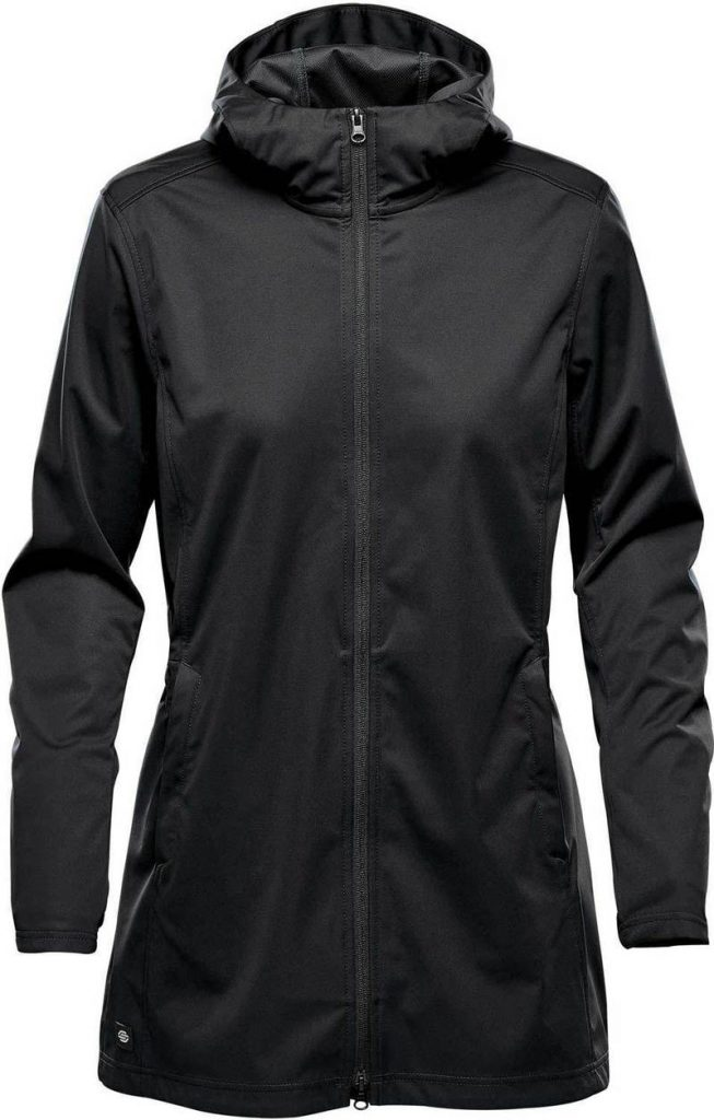WTSTKSL-1W Black - WorkwearToronto.com - Women's Belcarra Softshell jackets with custom logo