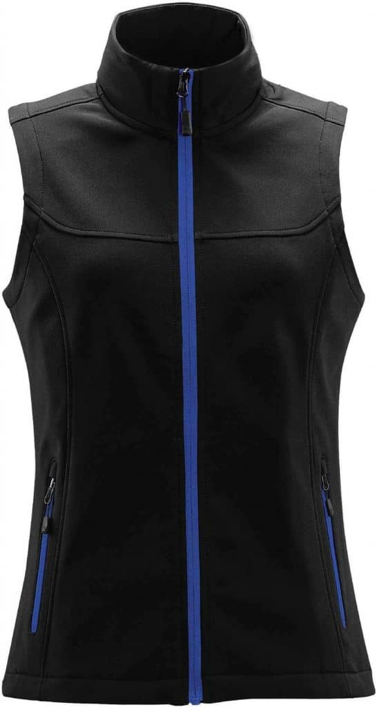 WTSTKSV-1W - Azure Blue - Women's Orbiter Softshell Vest