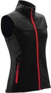 WTSTKSV-1W - Bright Red - Women's Orbiter Softshell Vest