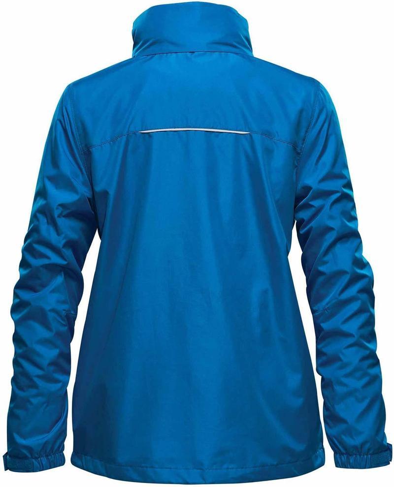 WTSTKXR-2W - AzureBlue - WorkwearToronto.com - 3-in-1 Jackets for Women - Back