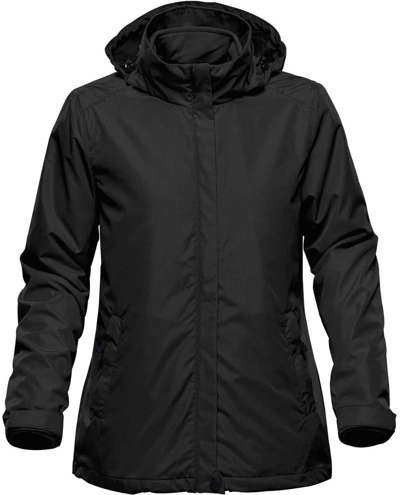 WTSTKXR-2W - Black - WorkwearToronto.com - 3-in-1 Jackets for Women