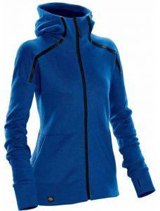 WTSTMH-1W - AzureBlue - Women's Helix Thermal Hoodie - WorkwearToronto.com - Custom Logo