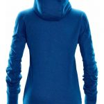 WTSTMH-1W - AzureBlue - Women's Helix Thermal Hoodie - WorkwearToronto.com - Custom Logo - Back