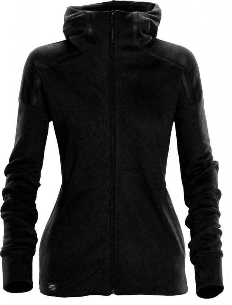 WTSTMH-1W - Black - Women's Helix Thermal Hoodie - WorkwearToronto.com - Custom Logo