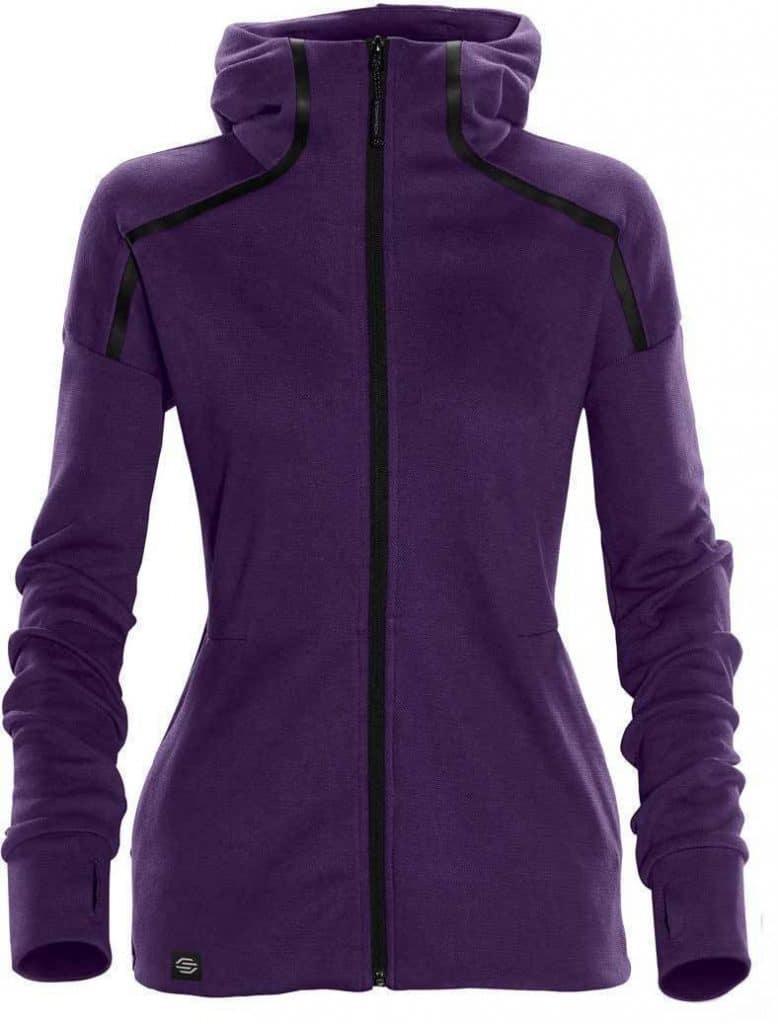 WTSTMH-1W - Violet - Women's Helix Thermal Hoodie - WorkwearToronto.com - Custom Logo