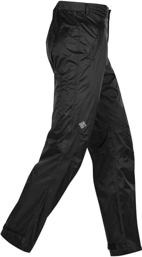 WTSTMSNP-1 - Black - WorkwearToronto.com - Men's Monsoon Pants With Custom Logo